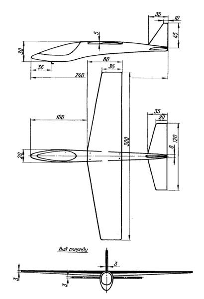 Самолет своими руками из чертеж 82